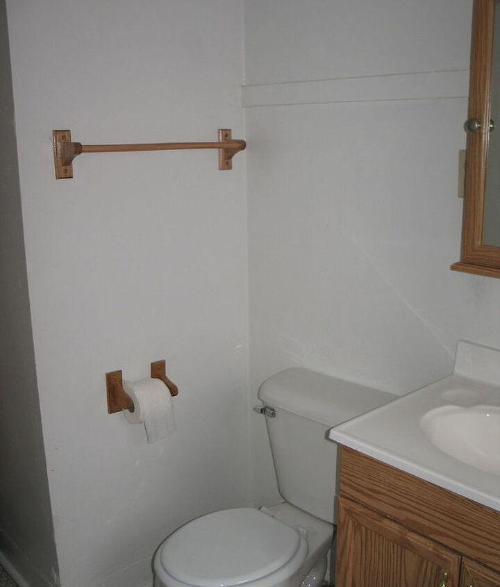 bathroom storage from vintage crates, bathroom ideas, diy, repurposing upcycling, small bathroom ideas, storage ideas