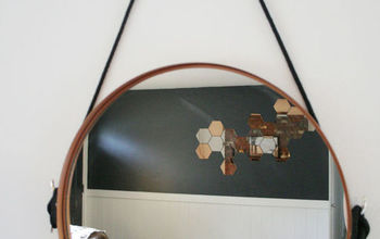 diy copper captains mirror with cleats, crafts, repurposing upcycling, wall decor