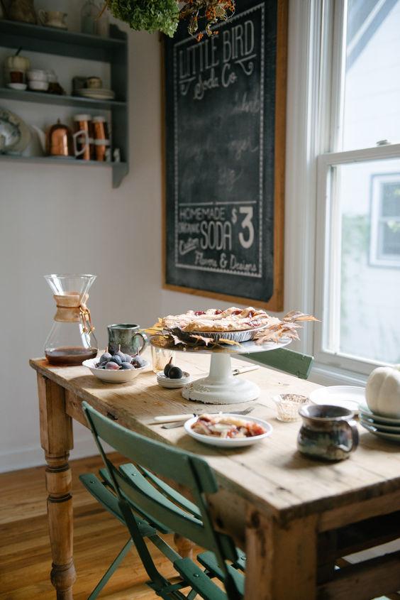 a french farmhouse inspired kitchen, home decor, kitchen design