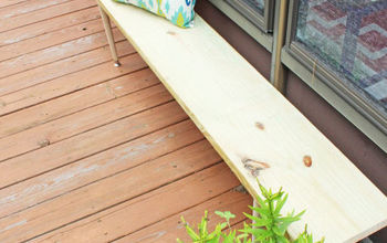 How to Build an Easy Outdoor Bench