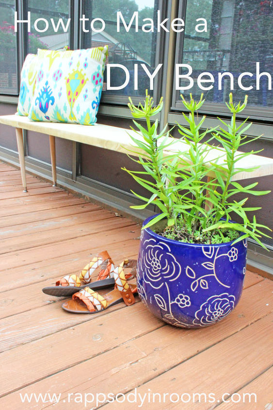 how to build an easy outdoor bench backyard seating, how to, outdoor furniture