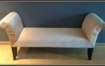 Reupholstering A Chaise Longue