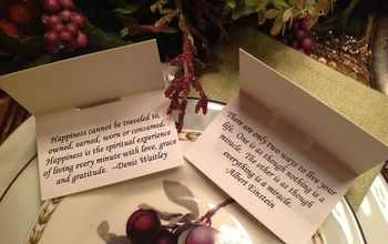 Thanksgiving Blessings Place Cards
