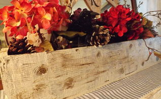 how to make a wooden box faux birch finish, diy, home decor, repurposing upcycling, seasonal holiday decor, woodworking projects