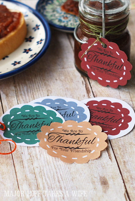 printable labels for gift giving, crafts