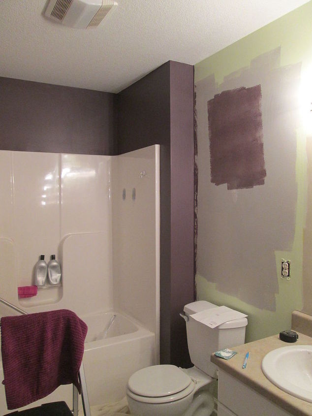 bathroom color ideas for painting. spa inspired bathroom makeover  ideas paint colors painting small Spa Inspired Bathroom Makeover Hometalk