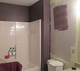 Spa Inspired Bathroom Makeover, Bathroom Ideas, Paint Colors, Painting, Small  Bathroom Ideas