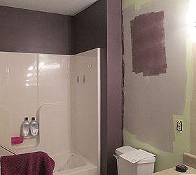Spa Inspired Bathroom Makeover, Bathroom Ideas, Paint Colors, Painting, Small  Bathroom Ideas