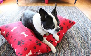 easy fleece dog bed, pets animals, reupholster