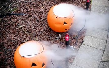 Dry Ice Display for Halloween