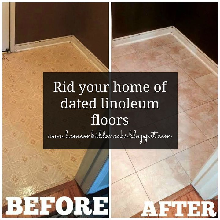 how to get rid of linoleum floors, diy, flooring