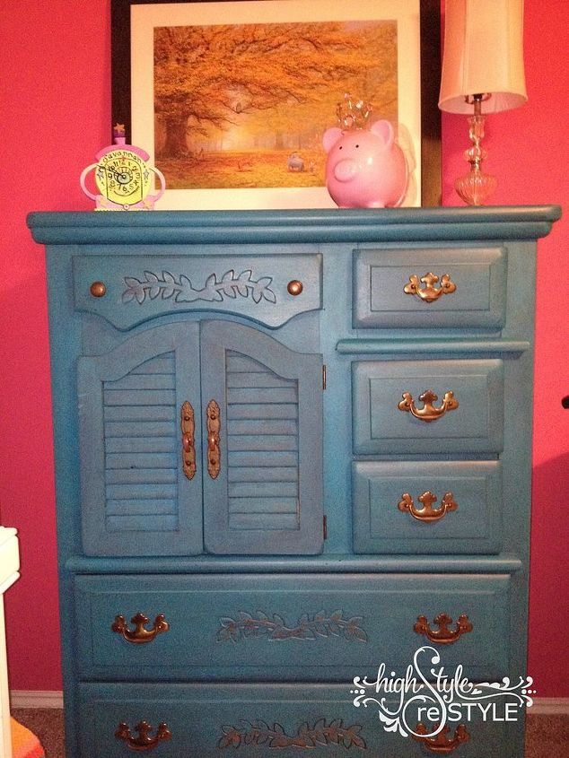 drawer chest redo with paint, painted furniture, repurposing upcycling