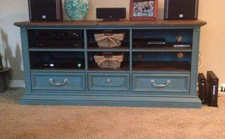 painted repurposing rooms entertainment center turned furniture dresser hometalk upcycling rec