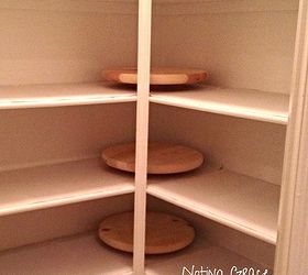 how to make lazy susans for less, closet, storage ideas