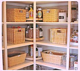 How To Make Lazy Susans For Less, Closet, Storage Ideas