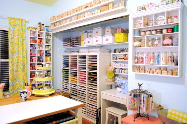 Craft Space Decor And Storage Ideas Hometalk