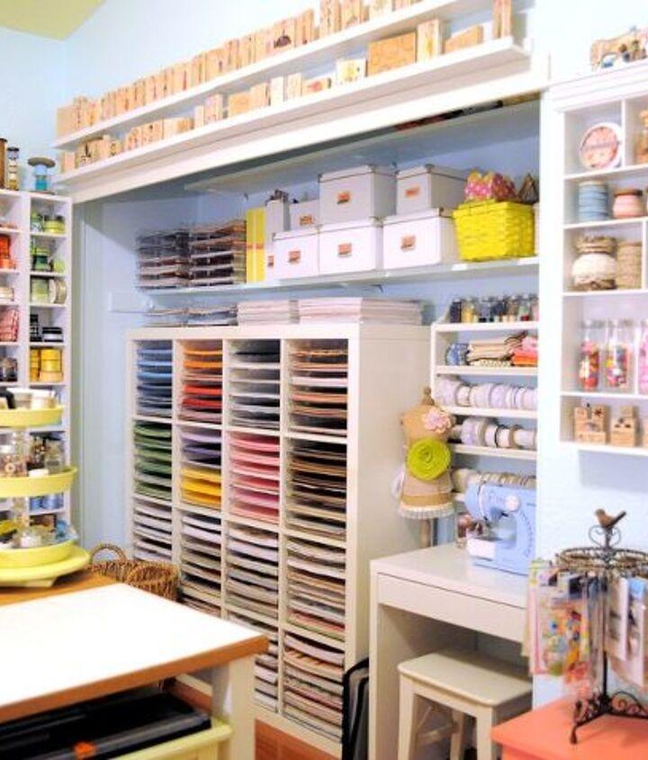Craft Space Decor And Storage Ideas Hometalk