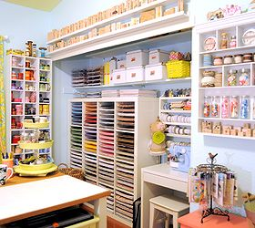 craft space room decor ideas storage craft rooms organizing storage ideas paper & Craft Space Decor and Storage Ideas | Hometalk
