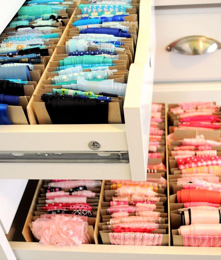 My ribbon drawers