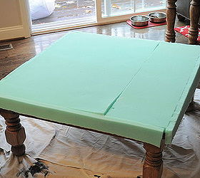High Quality Turning An Old Table Into An Ottoman, Diy, How To, Repurposing Upcycling,