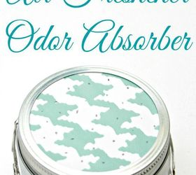 Make Your Own Odor Absorber Air Freshener, Cleaning Tips, Closet