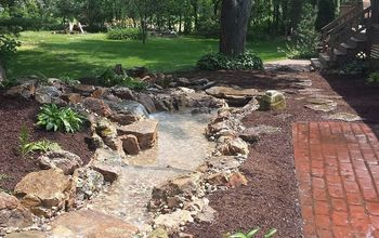 Crown Point Pondless Waterfall