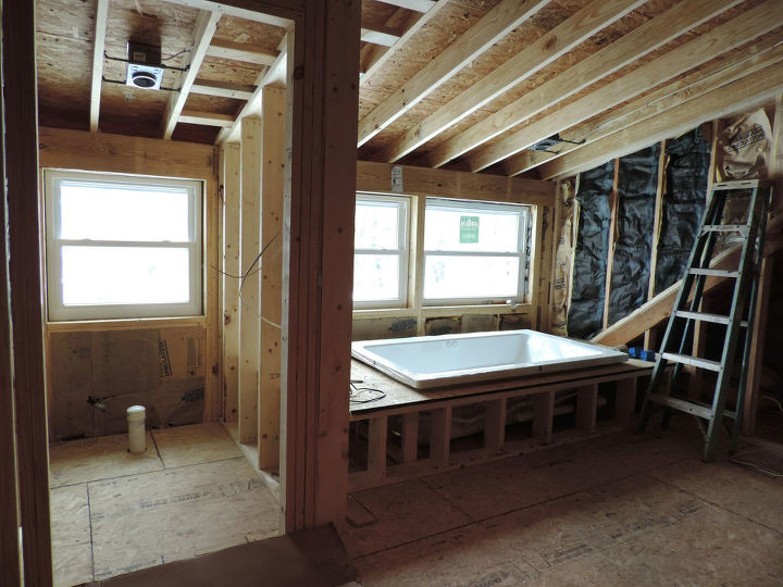 Attic To Master Bath Transformation