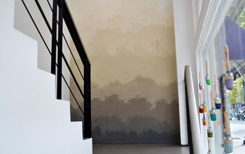 creating an ombre feature wall finish with chalk paint by annie sloan, chalk paint, diy, how to, painting, wall decor