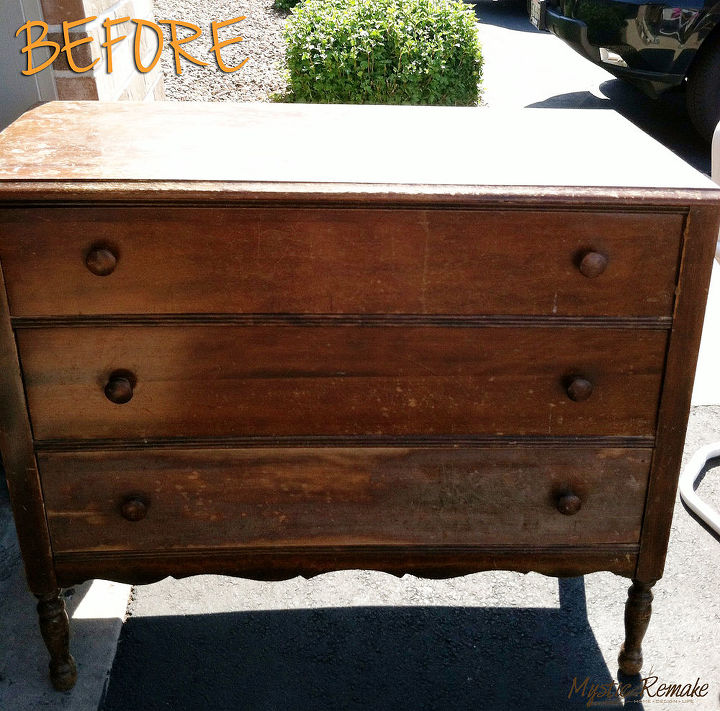 Bath Vanity From Upcycled Dresser Yard Find Bathroom Ideas Painted Furniture Repurposing