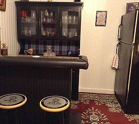 Turning A China Cabinet Into A Home Bar Hometalk