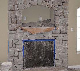 Carved Concrete Fireplace Redo Tips, Concrete Masonry, Diy, Fireplaces  Mantels