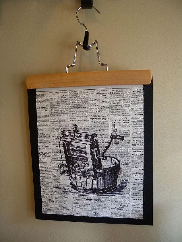 How To make Graphic Laundry Room Art | Hometalk