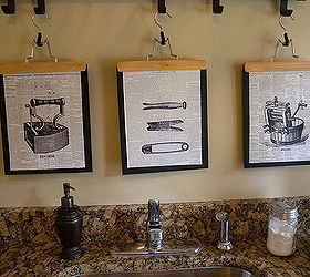 How To Make Graphic Laundry Room Art, Crafts, Laundry Rooms, Wall Decor,