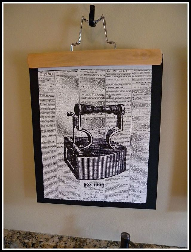 how to make graphic laundry room art, crafts, laundry rooms, wall decor