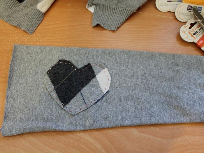 upcycled sweater heating pad, crafts, seasonal holiday decor