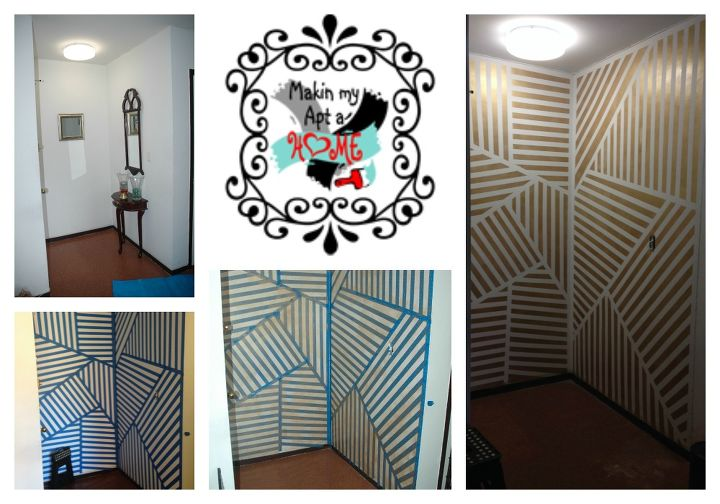 how to create entryway accent walls, home decor, painting