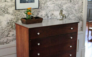 repair or install decorative legs on a dresser, home maintenance repairs, how to