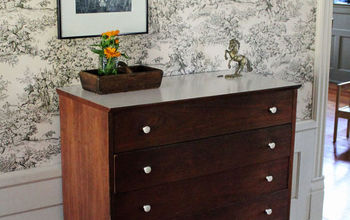 Repair or Install Decorative Legs on a Dresser