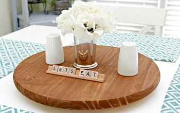 how to make a lazy susan for table or kitchen counter, countertops, kitchen design, organizing