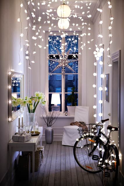 Decor Ideas With String Lights Home Lighting
