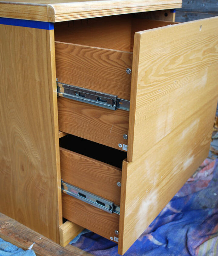 how to make an arles and aztec filing cabinet, chalk paint, crafts, how to, painted furniture