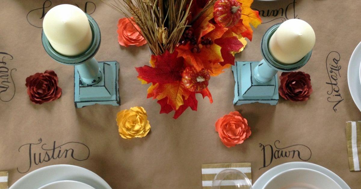 97 Kraft Paper Table Covering Ideas The Bright Ideas Blog Kraft