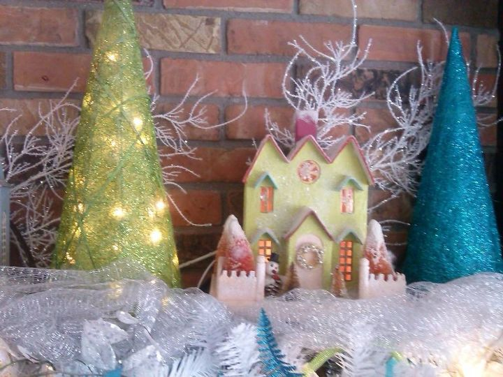 christmas fireplace mantel idea with lights christmas decorations fireplaces mantels