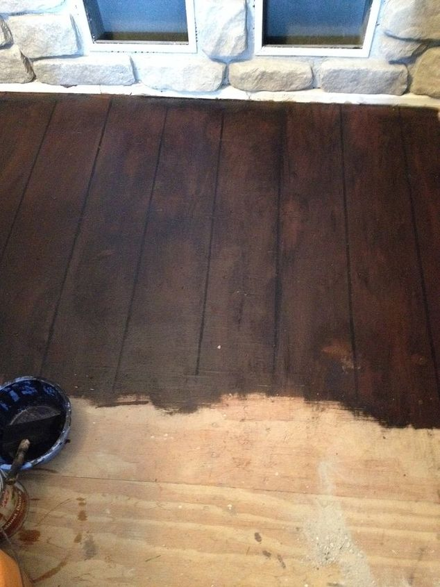 faux painted wood floors new house designs