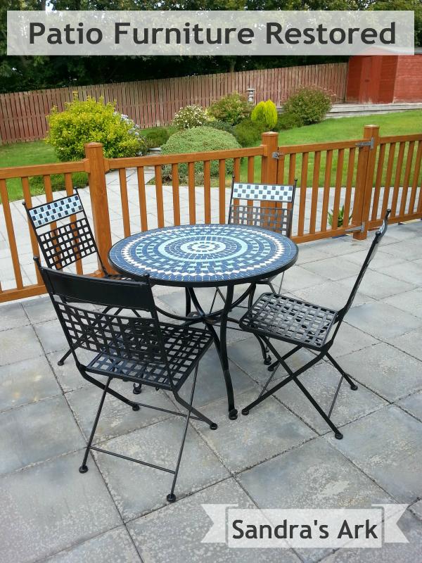 how to restore patio furniture, outdoor furniture, painted furniture - How To Patio Restore Patio Furniture Hometalk