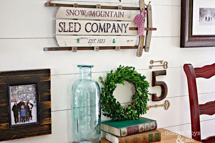 Winter Themed Gallery Wall Decor Ideas   Hometalk