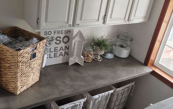Industrial Glam Laundry Room