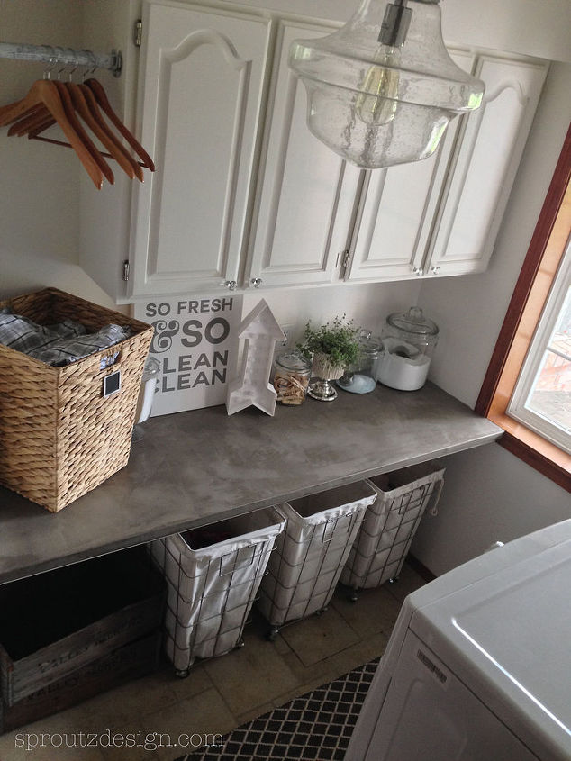 how to decorate industrial glam laundry room, home decor, laundry rooms