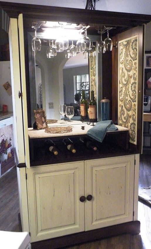 ideas for redo of an armoire, painted furniture