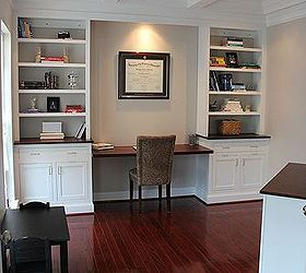 Home Office Remodel With Home Made Built Ins, Closet, Home Decor, Home  Improvement